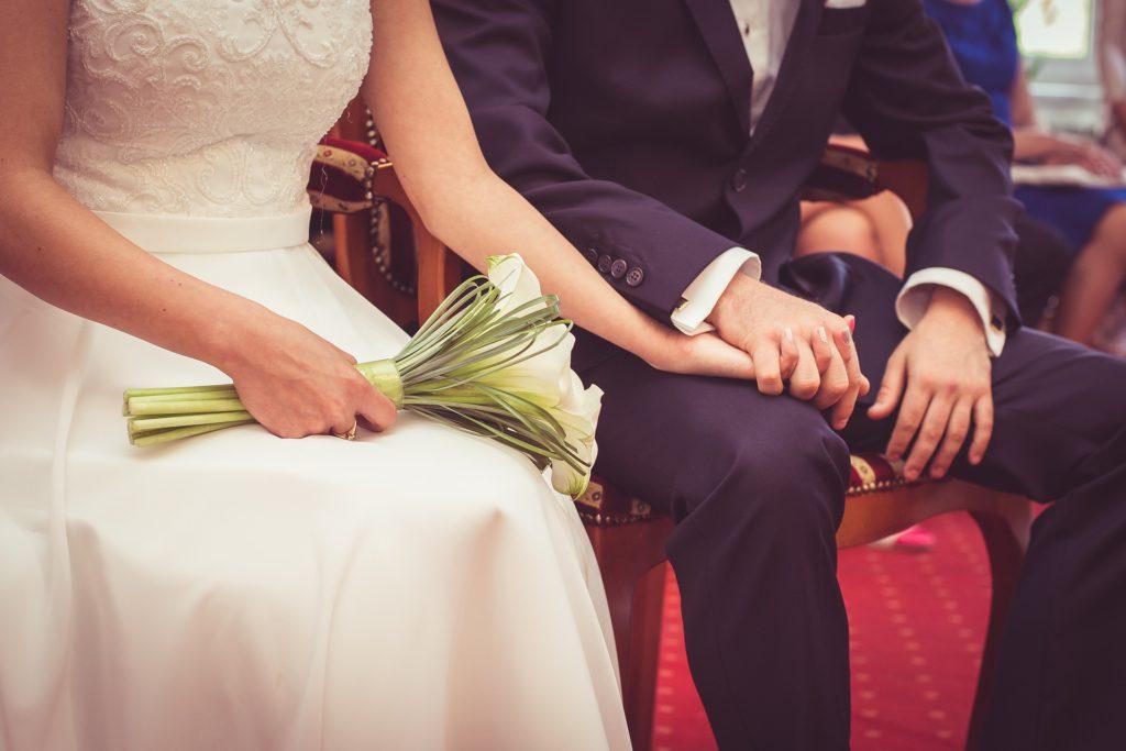 Trauung und Hochzeit
